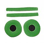 Zomo Replacement Earpads & Headband Pad Set For Sennheiser HD25 Headphones (velour, cactus)