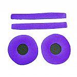 Zomo Replacement Earpads & Headband Pad Set For Sennheiser HD25 Headphones (velour, violet)