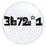 3672*1 Slipmats (white with black logo)(pair)