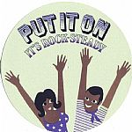Put It On Its Rock Steady Slipmat (light green with multicoloured design)