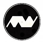 Minimal Wave Slipmats (black with white logo)