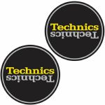 Technics Duplex 4 Slipmats (black, yellow, silver)
