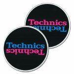 Technics Duplex 5 Slipmats (black, pink, blue)