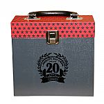 "Groove Merchant 20 Ltd Edition 7"" Record Box (red)"