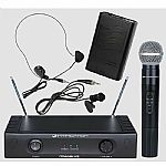 Intimidation iTrans V3 Wireless Microphone Set
