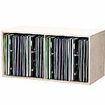 Glorious 12 Inch LP Vinyl Record Storage Box 230 (white)