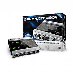 Native Instruments Komplete Audio 6 Audio Interface + Cubase LE6, Komplete Elements & Traktor LE2 Audio Production Software