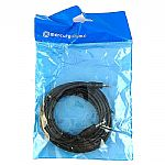 Mercury 3.5mm Stereo Mini Jack Plug To 3.5mm Stereo Mini Jack Plug Cable (6m, black)