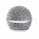 Shure RK143G Replacement Microphone Grille For SM58 (silver)