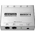 Kenton Merge 4 MIDI Merge Box *SUPPLIED WITH UK 3-PIN POWER ADAPTER*