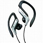 JVC HAEB75 In-ear Clip Headphones (silver)