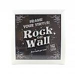 Rock On Wall Vinyl Record Album LP Frame (white)
