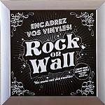 Rock On Wall Vinyl Record Album LP Frame (silver)