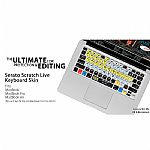 KB Covers Serato Scratch Live Keyboard Shortcut Cover For Apple Mac MacBook MacBook Air & MacBook Pro
