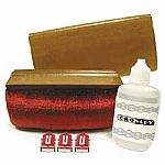 Crosley CK2 Vinyl Record Cleaning Kit With Brush & Distilled Water & 3 Replacement NS1 Stylus Needles