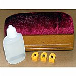 Crosley CK3 Vinyl Record Cleaning Kit With Brush & Distilled Water & 3 Replacement NP3 Stylus Needles