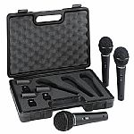 Behringer XM1800S Ultravoice Vocal & Instrument Microphone 3 Pack Set