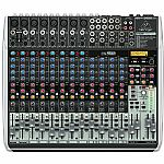 Behringer QX2222 USB Xenyx 12 Channel Mixer + Tracktion 4 Audio Production Software