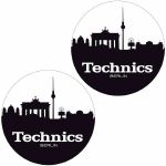 Technics Berlin Slipmats (pair, black & white)