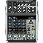Behringer Q802 USB Xenyx Premium 8 Input, 2 Bus Mixer + Tracktion 4 Audio Production Software