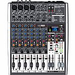 Behringer X1204 USB Xenyx Premium 12 Input 2/2 Bus Mixer + Tracktion 4 Audio Production Software