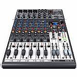 Behringer X1204 USB Xenyx Premium 12 Input 2/2 Bus Mixer + Tracktion 4 Audio Production Software
