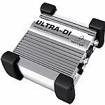 Behringer DI100 Ultra DI Professional Battery/Phantom Powered DI Box