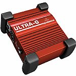 Behringer GI100 Ultra G Professional Battery/Phantom Powered DI Box with Guitar Speaker Emulation