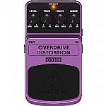 Behringer OD300 Overdrive/Distortion 2 Mode Overdrive/Distortion Effects Pedal