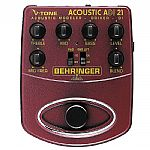 Behringer ADI21 V Tone Acoustic Driver DI Acoustic Amp Modeler/Direct Recording Preamp/DI Box