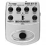 Behringer BDI21 V Tone Bass Driver DI Bass Amp Modeller/Direct Recording Preamp/DI Box