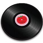 Joseph Joseph Tomato Vinyl Record Worktop Saver Chopping Board