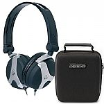 AKG K81 DJ Headphones (black) + Magma Headphone Hardcase (black) (REDUCED PRICE BUNDLE)