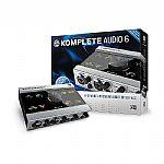 Native Instruments Komplete Audio 6 Audio Interface + Cubase LE6, Komplete Elements & Traktor LE2 Audio Production Software (B-STOCK)