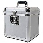 Sound LAB Eurostyle 12 Inch Vinyl Record Case 70 (silver)
