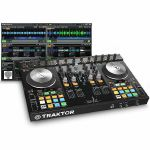 Native Instruments Traktor Kontrol S4 Mk2 DJ Controller + Traktor Pro 2 DJ Software