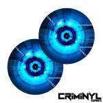 "Criminyl Future 12"" Slipmats (pair)"