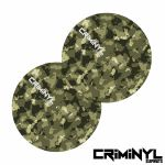 "Criminyl Camo 12"" Slipmats (pair)"