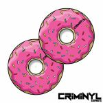 "Criminyl Donut 12"" Slipmats (pair)"