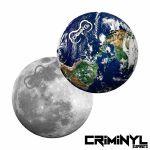 "Criminyl Earth & Moon 12"" Slipmats (pair)"
