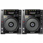 Pioneer CDJ850 Multi CD USB Players (pair, black)