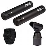 Rode M5 Compact Condenser Microphones (matched pair)