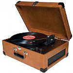 Crosley CR49 Traveler Turntable (tan)