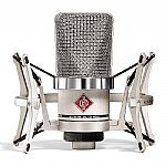 Neumann TLM102 Cardioid Studio Microphone & Shockmount Set (nickel)