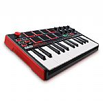 Akai MPK Mini Mk2 Performance USB MIDI Pad & 25 Key Keyboard Controller With Production Software Package