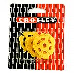 Crosley 45 RPM Adapters (yellow, pack of 12)