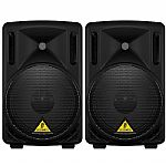 Behringer B210D Eurolive Active 2 Way PA Speakers (pair)