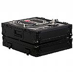Odyssey Black Label Series FZ1200BL Case For Technics Turntables (black)