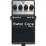 Boss ML2 Metal Core Extreme Metal Distorion Pedal