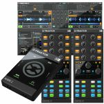 Native Instruments Traktor Audio 2 MK2 Audio Interface With Traktor LE 2 DJ Software + Pair Of Traktor Kontrol X1 MK2 Performance DJ Controllers (SPECIAL LOW PRICE BUNDLE)